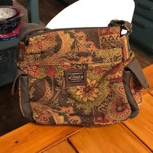 Fossil Bags - Fossil Tapestry Cross Body Purse